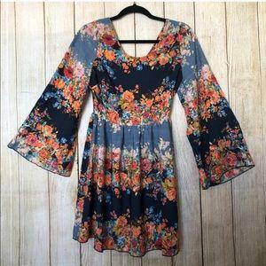 Anthropologie | Poema | Floral Mini Dress